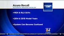 Acura Recalls Two SUV Models