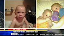 Babies found in pool, homeowner in court