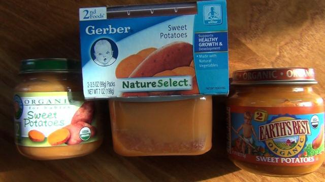 Baby Food in Honor of a Newly Arrived Baby