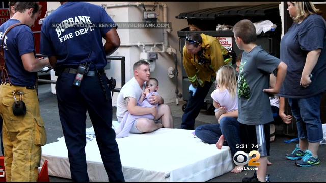 Couple Uses Mattress To Save Boy From 3rd-Floor Window Fall