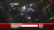 Deputy-Involved Crash Injures 2 In El Monte