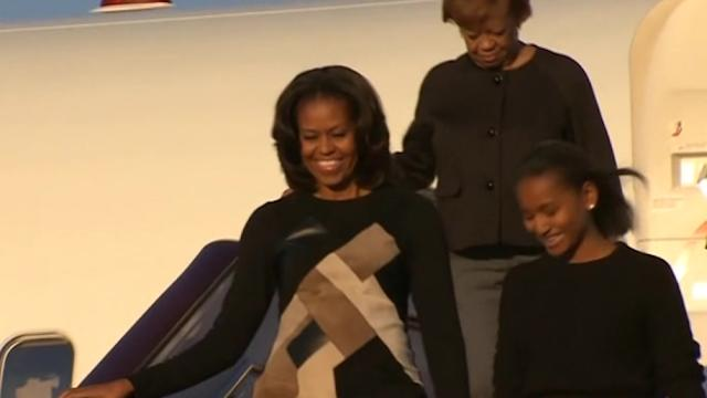 Michelle Obama arrives in China on hotly anticipated trip