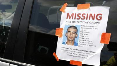 Teen arrested in case of missing UF student