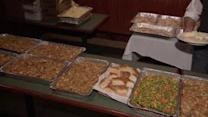 Thanksgiving meals prepared for Sandy first responders