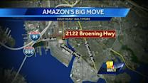 What will Amazon bring to Baltimore?