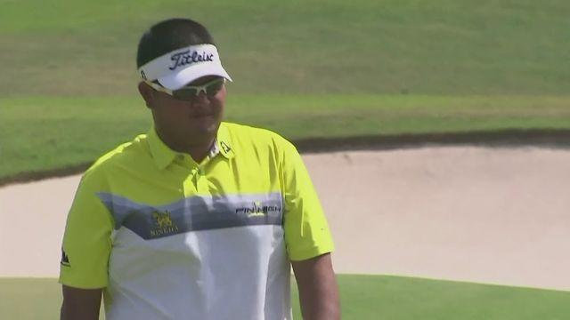 Golf: Meesawat and Karlberg share King's Cup lead