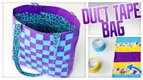 Duct Tape Tote Bag - Do It, Gurl