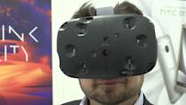 HTC unveils virtual reality technology