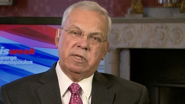 Mayor Thomas Menino on 'This Week'