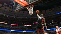 Through the Lens: LeBron' Huge Dunk