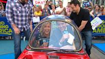 World's Smallest Car Packed With 'GMA' Anchors