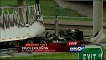 Truck fire snarls traffic in southeast corner of Downtown Loop