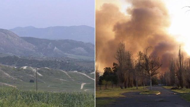 Concern over volatile fire season due to weak winter rain