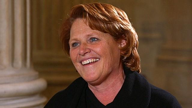 Sen. Heidi Heitkamp: The Defiant Democrat