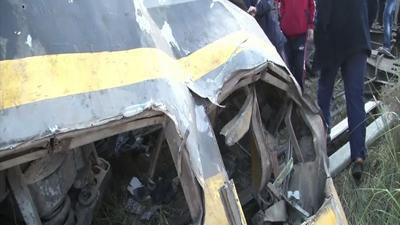 Raw: Deadly Train Derailment in Egypt