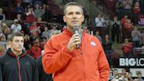 Meyer pumps up crowd on eve of Michigan game