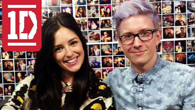 EXCLUSIVE ? TYLER OAKLEY & ONE DIRECTION TALK FIRST KISSES AT ?THIS IS US? JUNKET: TRENDIN? ON TEEN!