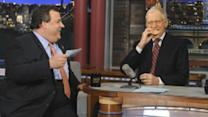 Chris Christie Meets David Letterman