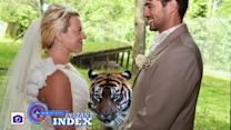 Instant Index: Bride and Groom Get Photo Bombed by Tiger