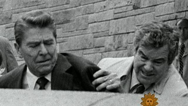 Ronald Reagan's close call