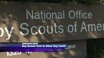 Boy Scouts vote to allow openly gay youths
