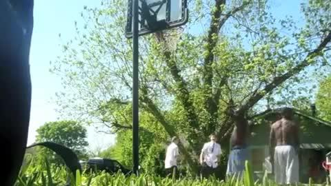 Mormon Missionaries Own Basketball Game