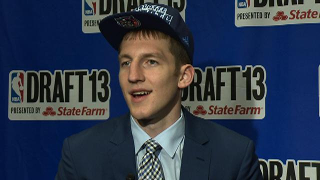 Bobcats select Cody Zeller 4th overall