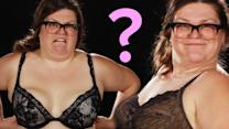 Watch This Woman Get Fitted For Bras And Get All Different Sizes