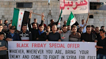 Syrian Activists Run 'Black Friday Special'