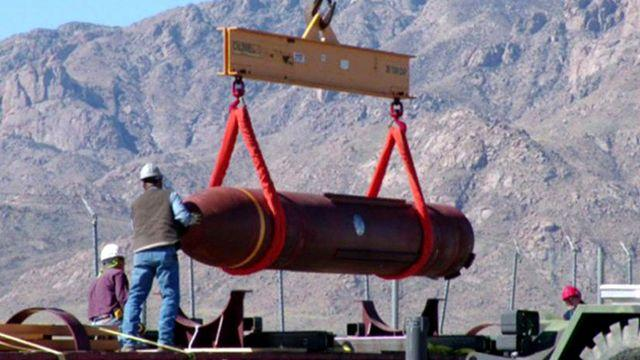 'Bunker buster' upgraded in response to standoff with Iran