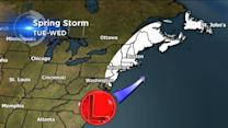 Northeast braces for potential snow