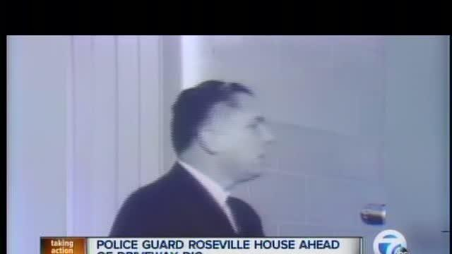 Is Jimmy Hoffa's body buried under a Roseville driveway?