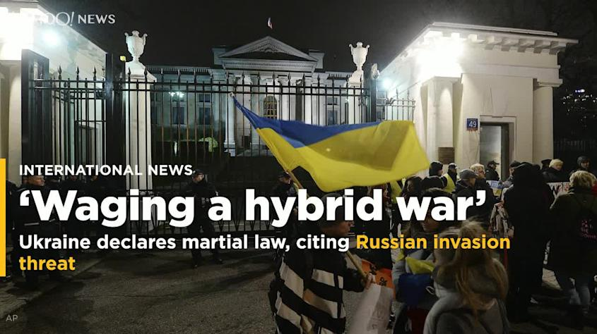 Ukraine introduces martial law citing possible Russian