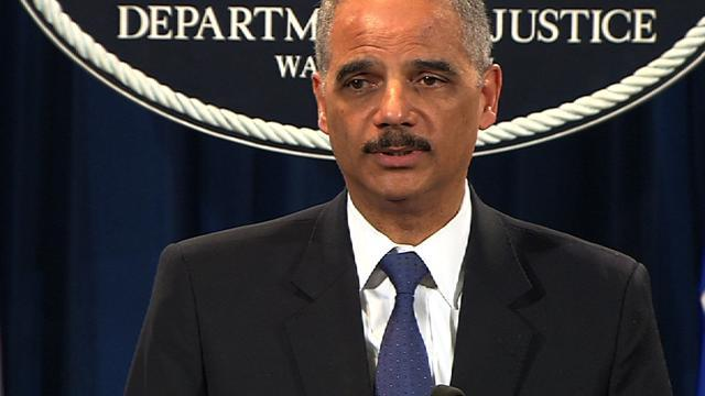 Holder announces 89 individuals charged with Medicare fraud