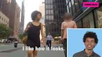 Men React to Their Girlfriends Getting Catcalled