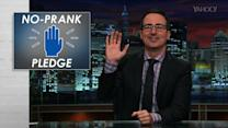 John Oliver Takes on April Fools Day