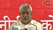 Nitish slams PM Modi for speaking over 'beef ban' in Bihar (Part - 1)