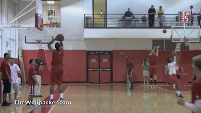 NC State shooting drills (part II)