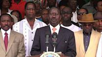 Defeated Kenyan PM challenges election results