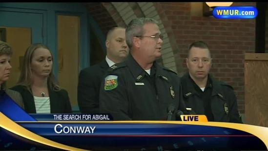 Raw video: Update on search for missing girl