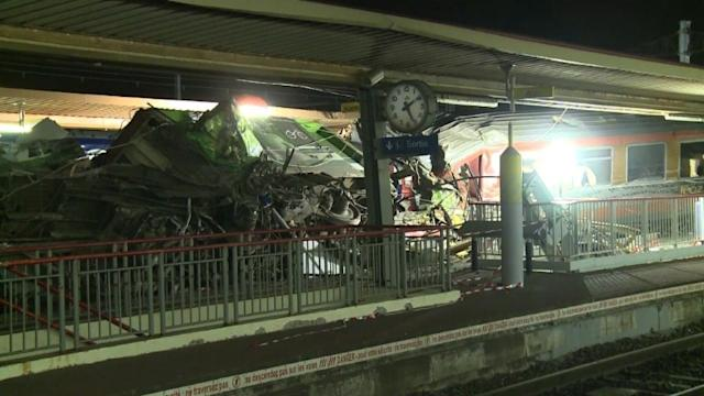 Survivors shocked as France train crash kills six
