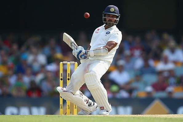Image result for Murali Vijay leaving the ball