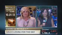 Gold closes down 3%