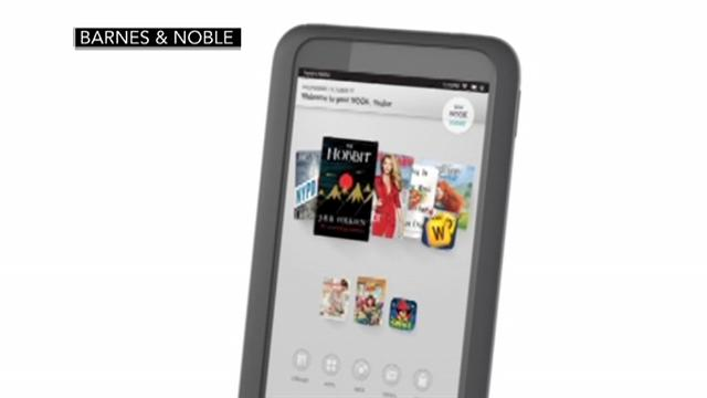 Tablet wars heat up with new Nook, Kindle
