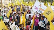 Mexican leftists protest energy revamp