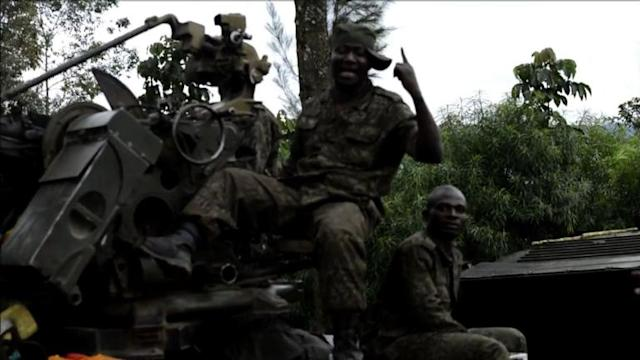 DR Congo army seizes key position from rebels