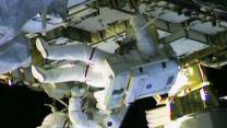 Raw: Spacewalking Astronauts Hope to Stop Leak