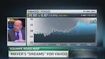 Mayer's 'dreams' for Yahoo