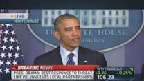 President Obama: Increasing support of Iraqi security for...