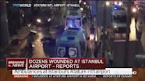 10 reported dead in Istanbul airport blasts